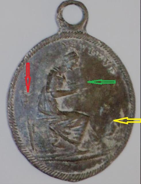 Médaille Ste-Geneviève & St-Louis / XIXème Image210
