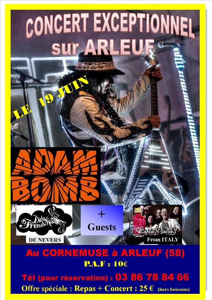 ADAM BOMB + Guests le 19/06 à ARLEUF (58) organisé par Laurent et Philippe de KISSIN' TIME Adam_b10