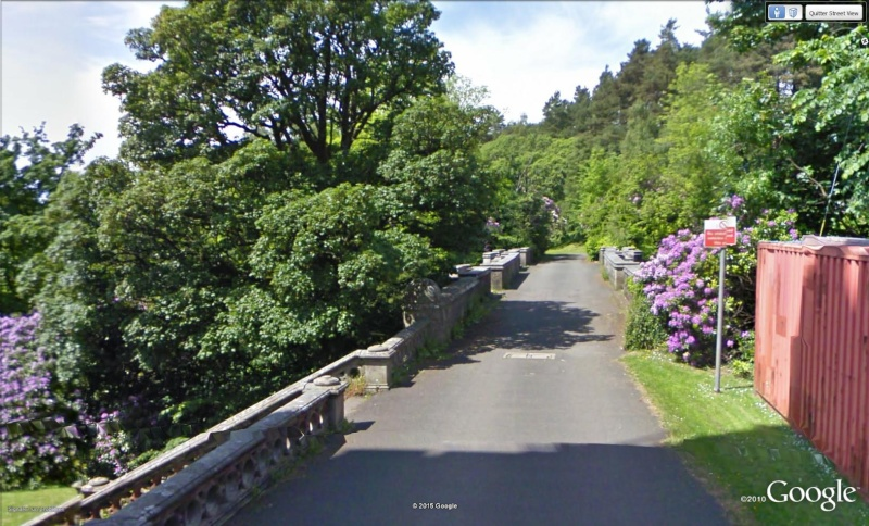 Overtoun bridge, Milton, Ecosse - UK Pont110