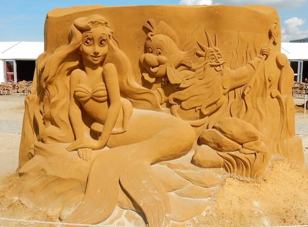 Sculpures sur sable Disney - News Touquet p.1 ! Ariel10