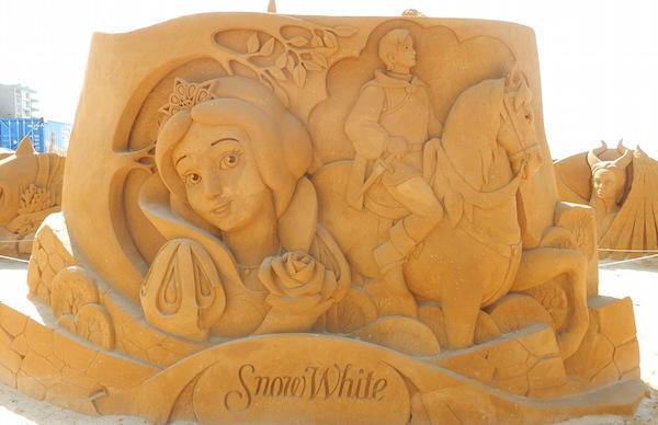 Sculpures sur sable Disney - News Touquet p.1 ! Blanch10