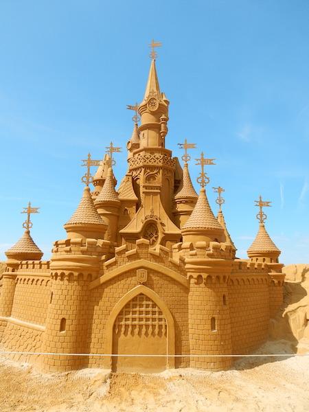 Sculpures sur sable Disney - News Touquet p.1 ! Chatea10