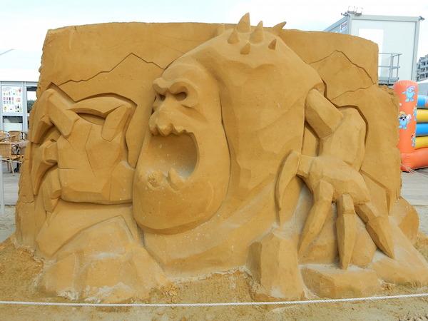Sculpures sur sable Disney - News Touquet p.1 ! Eine_d10