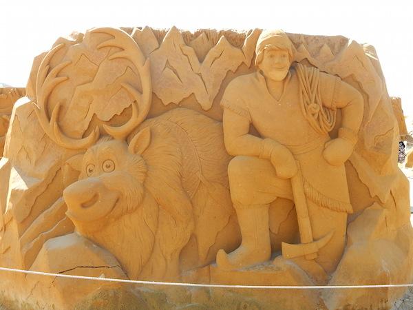 Sculpures sur sable Disney - News Touquet p.1 ! Eine_n10