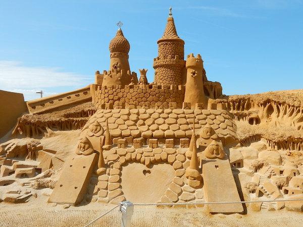 Sculpures sur sable Disney - News Touquet p.1 ! Labytr10