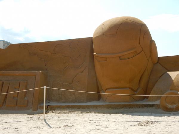 Sculpures sur sable Disney - News Touquet p.1 ! Marrve10