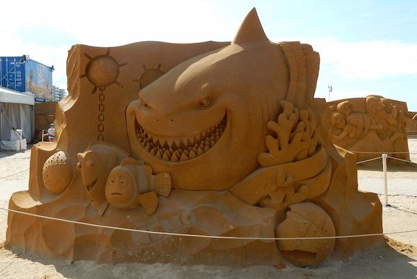 Sculpures sur sable Disney - News Touquet p.1 ! Nemo10