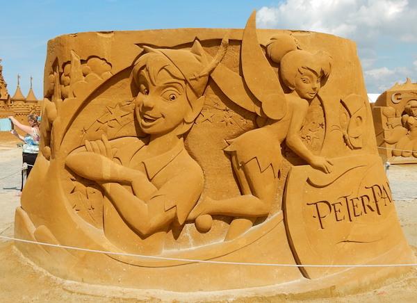 Sculpures sur sable Disney - News Touquet p.1 ! Peter_10