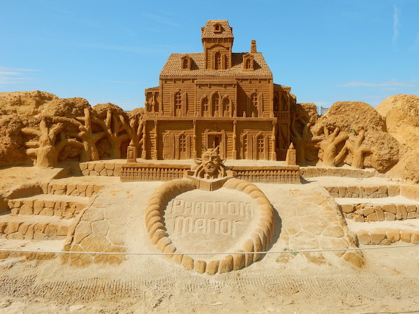 Sculpures sur sable Disney - News Touquet p.1 ! Phanto10