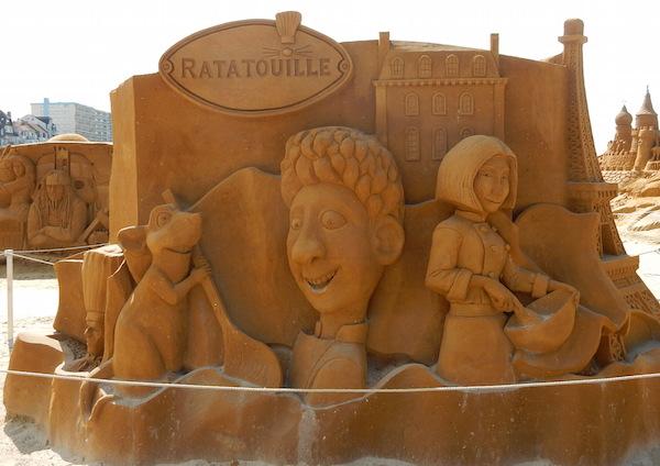 Sculpures sur sable Disney - News Touquet p.1 ! Ratato10
