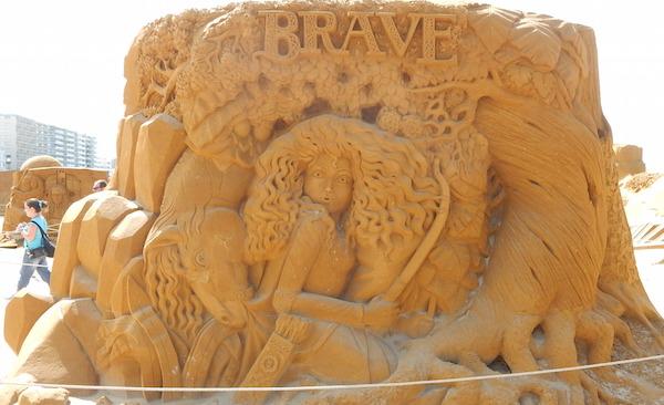Sculpures sur sable Disney - News Touquet p.1 ! Rebell11