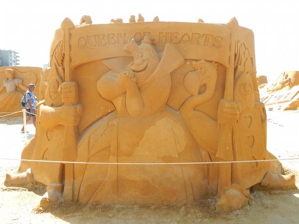 Sculpures sur sable Disney - News Touquet p.1 ! Reine_10