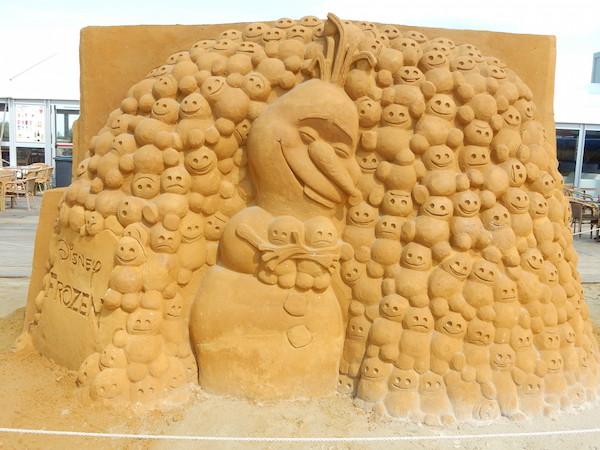 Sculpures sur sable Disney - News Touquet p.1 ! Reine_13