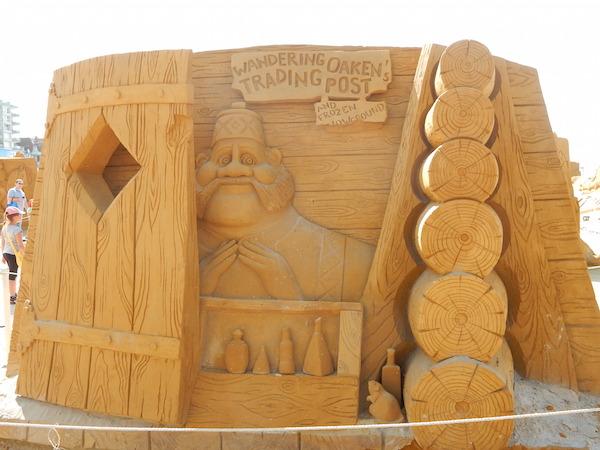 Sculpures sur sable Disney - News Touquet p.1 ! Reine_16