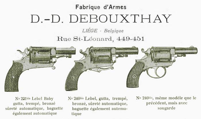 Quel calibre pour ce vieux revolver ? 7001111