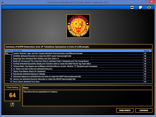 TBK Books NJPW Destru10