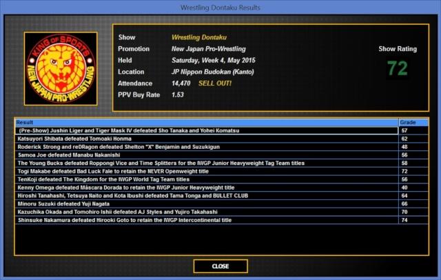TBK Books NJPW Dontak13