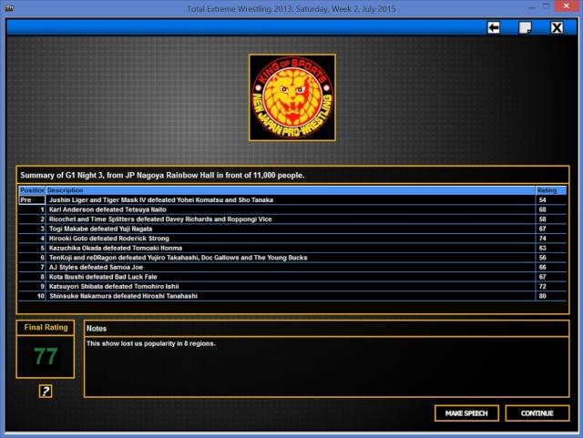 TBK Books NJPW G1_nig14
