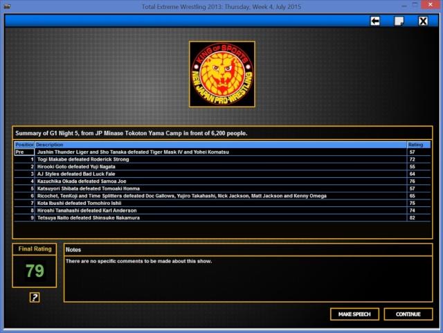 TBK Books NJPW G1_nig16