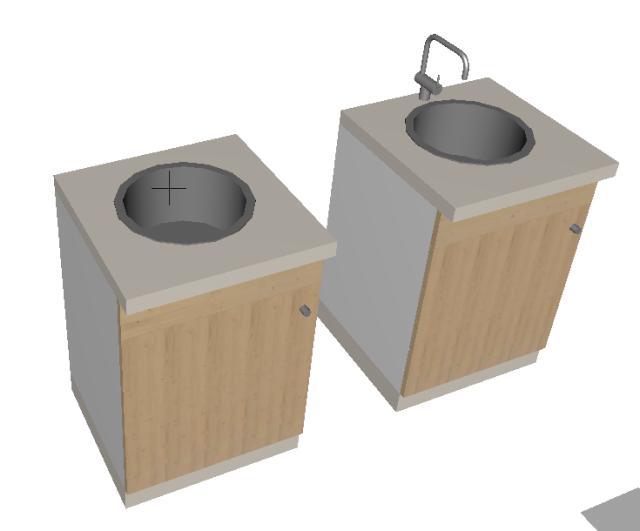 muebles de cocina, no se ven los tiradores en 3d Captu136