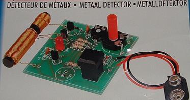 Détecteur de métaux : construction, schéma, plan Metalv10