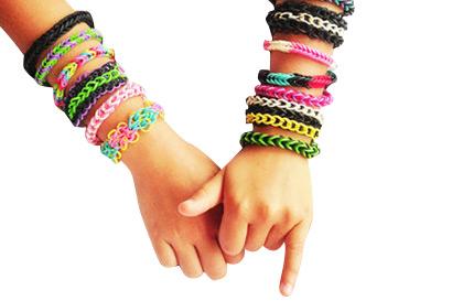 Плетение браслетов из резинок. История гаминга. 00013711