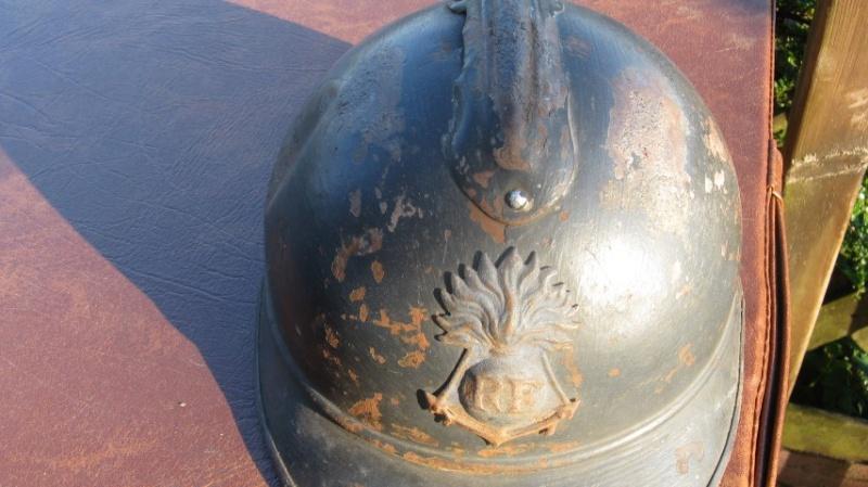 Casque adrian  colo WW1 -ESC 2 Img_3211