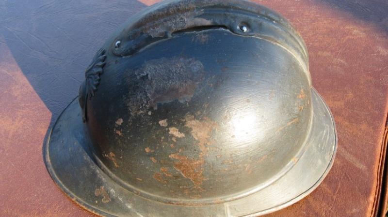 Casque adrian  colo WW1 -ESC 2 Img_3212