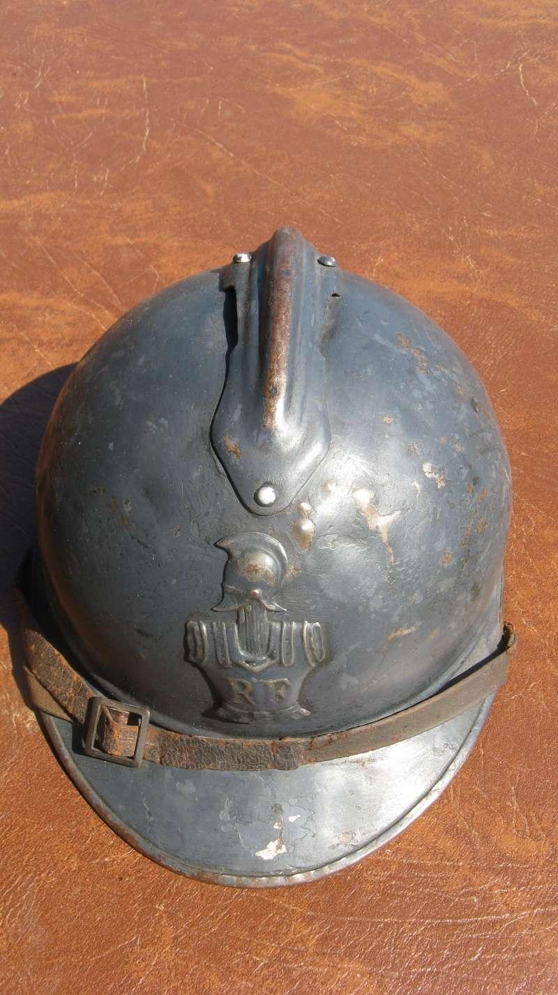 casque adrian Génie WW1 - ESC 1 Img_3417