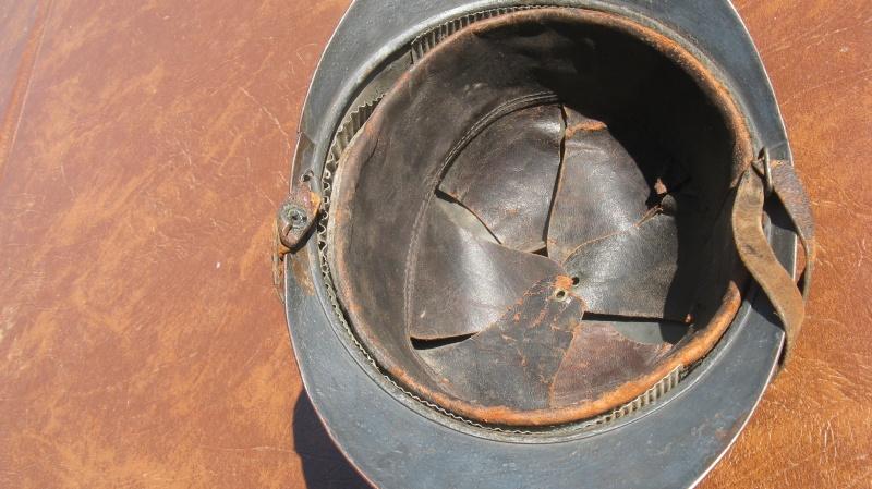 casque adrian Génie WW1 - ESC 1 Img_3418