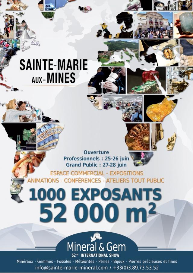 Sainte-Marie-aux-Mines International Mineral & Gem Show 2015 Flya6_12
