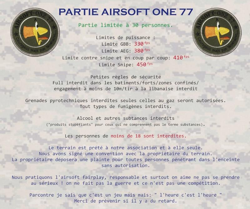 poste permanent invitation partie à la rochette melun 77000 team airsoft one 77 Airsof10