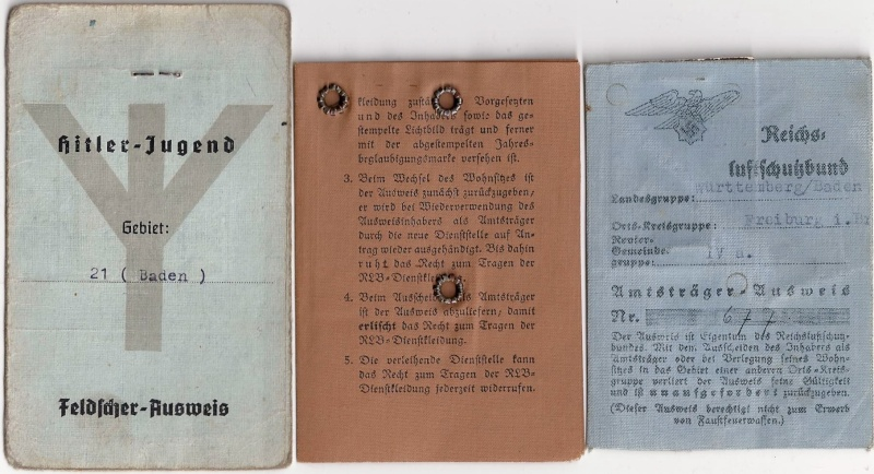 Vos livrets militaires allemands WWII (Soldbuch, Wehrpass..) / Heer-LW-KM-SS... - Page 2 Scan0013