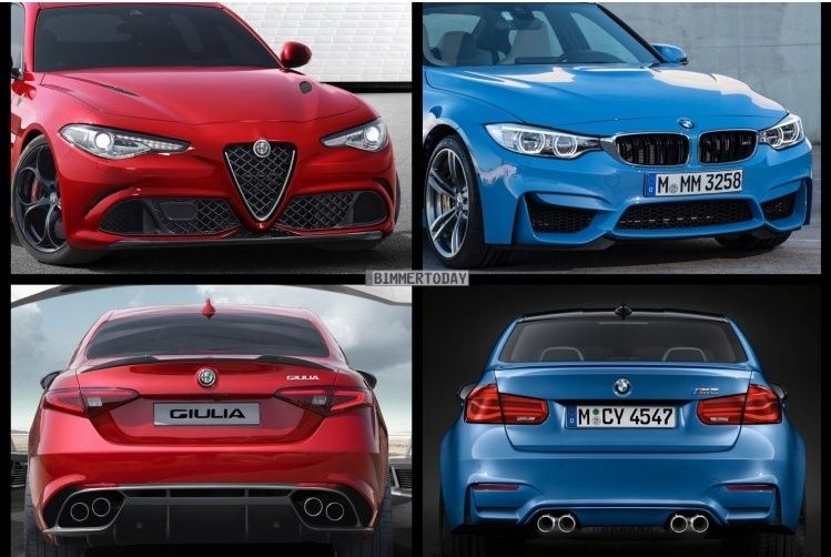 Giulia vs BMW Captur30