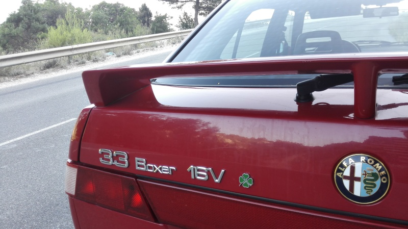 Présentation de ma 33 16V QV Rouge Img_2023