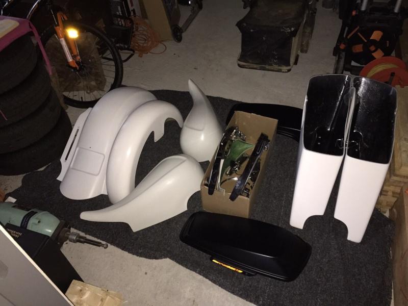 préparation bagger sur street glide 2014 0213