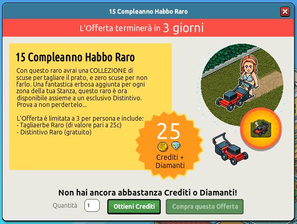 [ALL] 15° Compleanno Habbo Raro - Tagliaerbe Raro - Pagina 2 Scher421