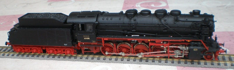 Lok 43 035 in Spur HO - eine Aufarbeitung 43_03511