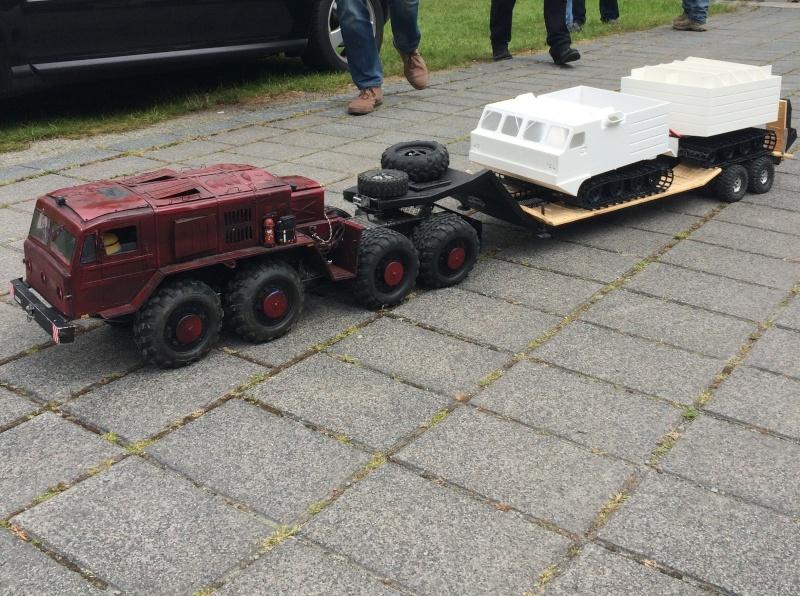 MAZ 537G trailers Convoi10