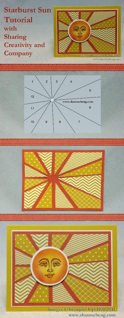 "Tutoriel carte ""soleil"" Tuto_210"