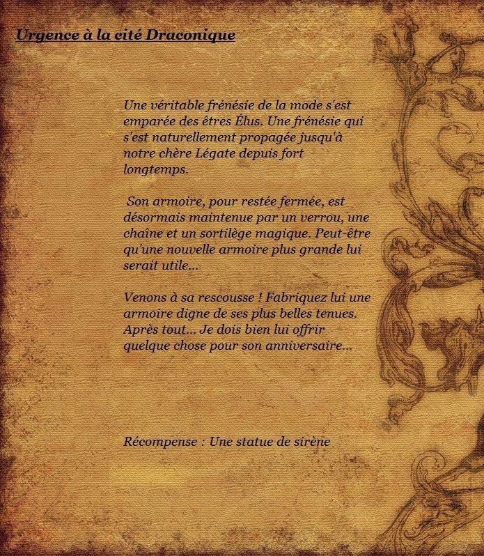 Concours Dimensionnel : Urgence à la citée Draconique - Page 2 Moysti10