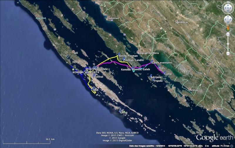 Kayak de mer en Croatie Croati10
