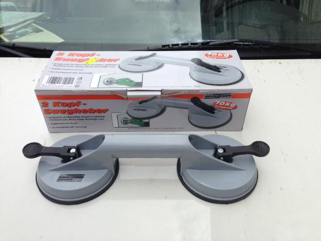 Bricolage pour aider à monter son kayak sur le toit de sa voiture. Ventou13