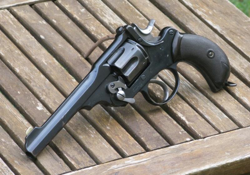 """Webley-Green Army Revolver, cal. .455/.476, à canon de 6"""" Img_7323"""