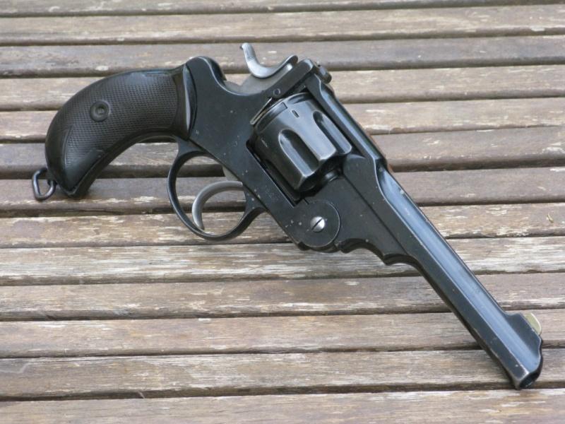 """Webley-Green Army Revolver, cal. .455/.476, à canon de 6"""" Img_7327"""