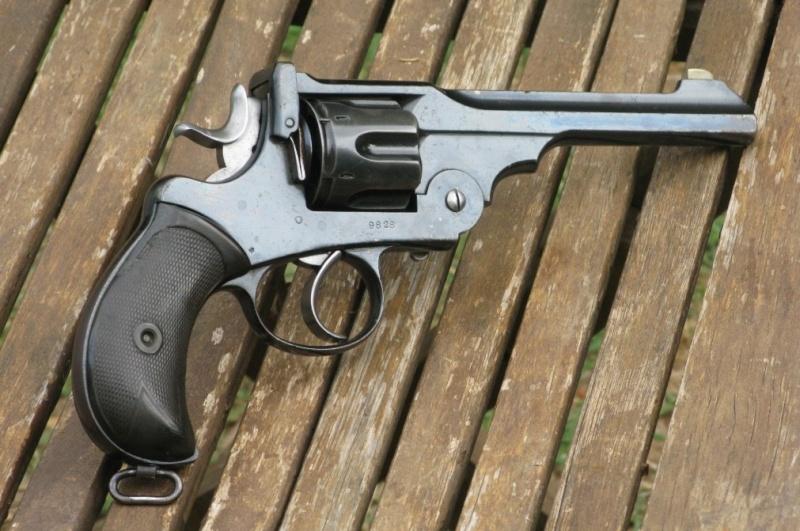 """Webley-Green Army Revolver, cal. .455/.476, à canon de 6"""" Img_7328"""
