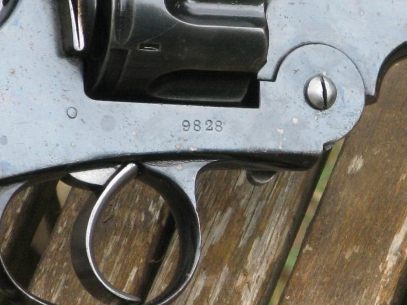 """Webley-Green Army Revolver, cal. .455/.476, à canon de 6"""" Img_7329"""