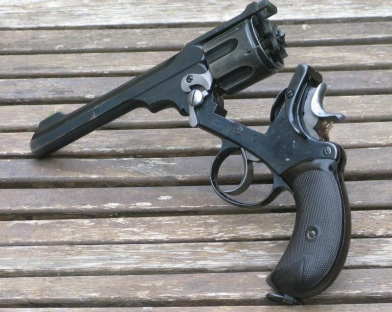 """Webley-Green Army Revolver, cal. .455/.476, à canon de 6"""" Img_7331"""