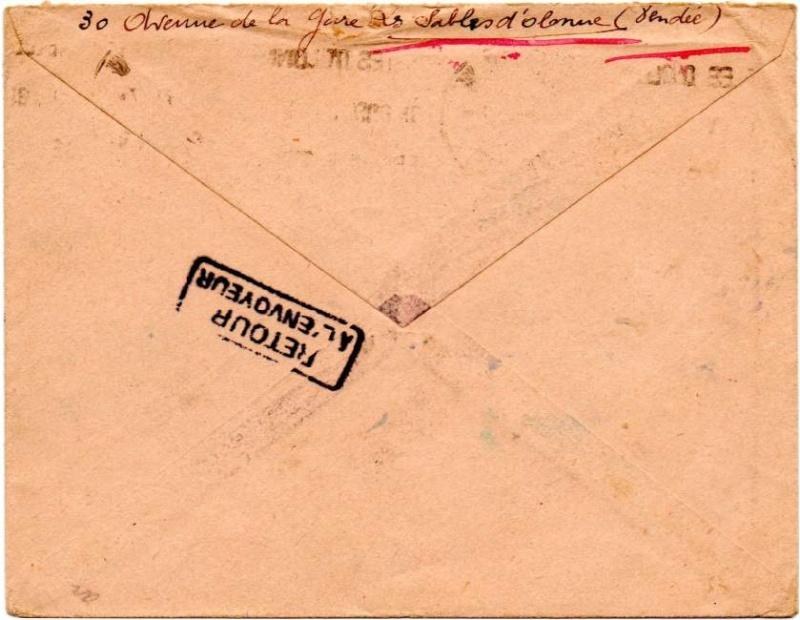 CARTE POSTALE FRANCHISE MILITAIRE PRIORITE pour un prisonnier envoyé  au Feldpostnummer 32000   1940_r11