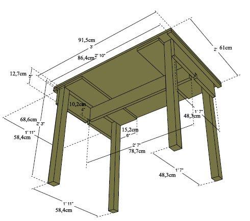 fabrication table de campement Table_12